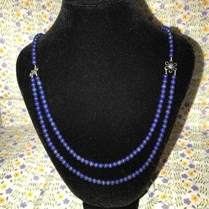 Jewelry - Handcrafted lapis necklace (Item #247)