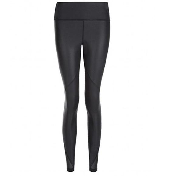 0cee929e271b3 Sweaty Betty Pants | Frey Wet Look Luxe Black Legging Xs | Poshmark