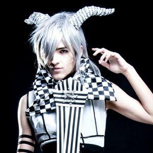 Music Note Mini Horns Muse Costume Paper Mache Blk