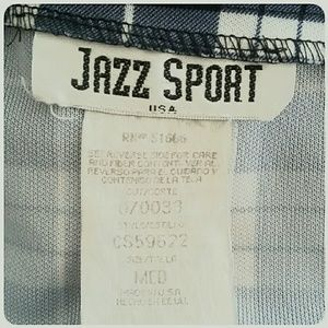 Jazz Sport Skirts - Jazz Sport Black White Plaid Mini-Skirt Size Med