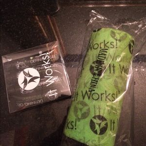 It Works wrap tape and body gel