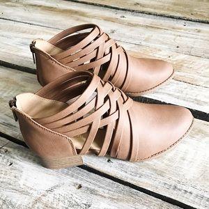 Shoes - Criss-Cross Booties