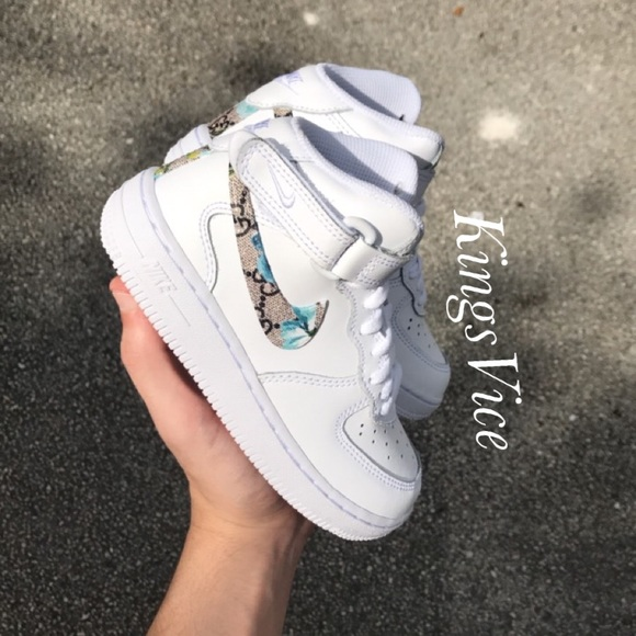5fbdc3f348c6 Custom Baby Gucci Air Force 1. Boutique. Nike