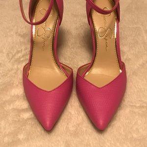 b00c4dd20121 Jessica Simpson Shoes - Jessica Simpson Ultra Pink Cirrus Pumps