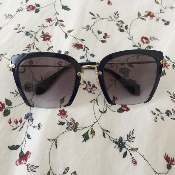 69c32559b110 MIU MIU Rasoir Baltic blue sunglasses. M 59a6c26899086ad9e8009c23. Other  Accessories ...