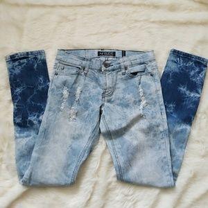 🍁7/$35 Acid Wash Super Skinny Jeans