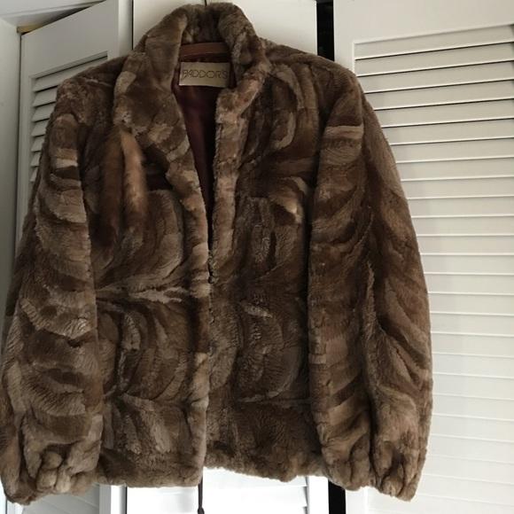 Mink Coat Value >> Vintage Bomber Style Sheared Mink Fur Jacket