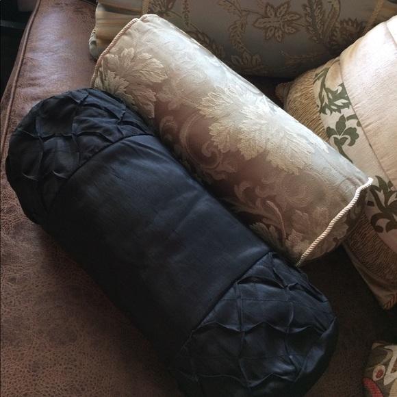 Croscill Other Decorative Neck Roll Boudoir Pillows Poshmark Unique Decorative Roll Pillows