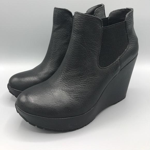 5d4d64bde5ee korks by kork-ease Shoes - Korks by Kork-Ease Hyannis Ankle Wedge Bootie