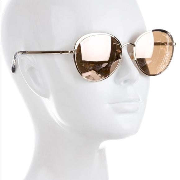 4b3de15dc0 CHANEL Accessories - Chanel 18k Gold Round Spring Sunglasses