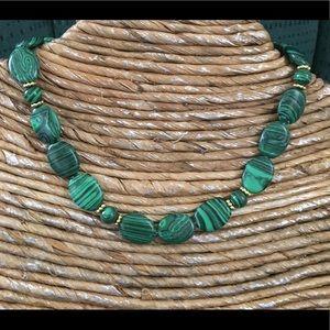 Jewelry - 🛍✨Malachite Necklace🌺NEW