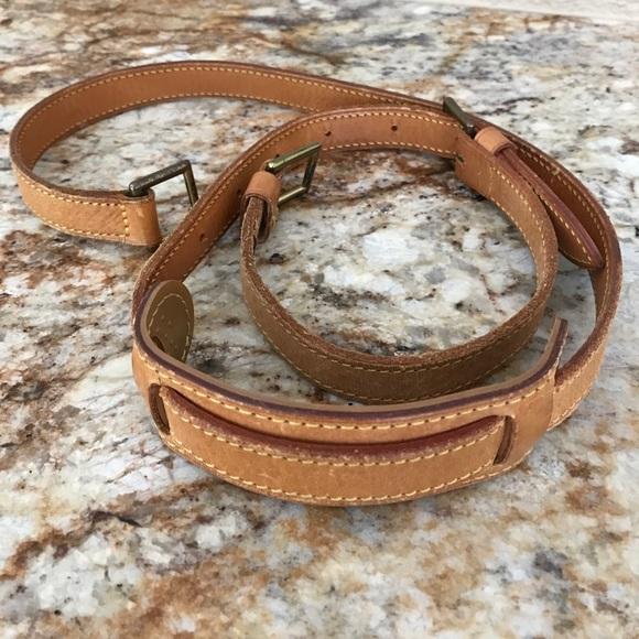 2650d898ecf1 Louis Vuitton Handbags - Louis Vuitton vachetta leather strap crossbody