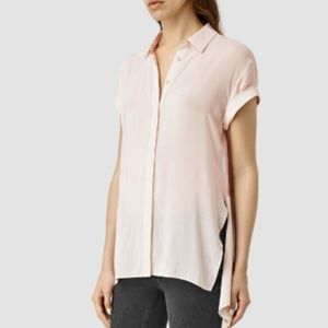 ⬇️♥️ AllSaints Cheyne Shirt - Pink