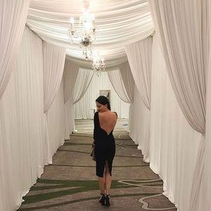 25575b19500 Lulu s Dresses - Lulus Va Va Voom Backless Midi Dress