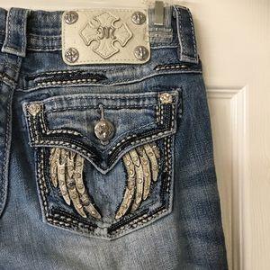 Miss Me Angel Wings Skinny Jeans