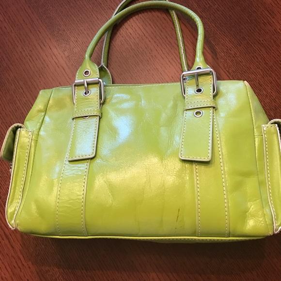 3c8bc9e683eb Hype Handbags - Lime green leather Hype bag