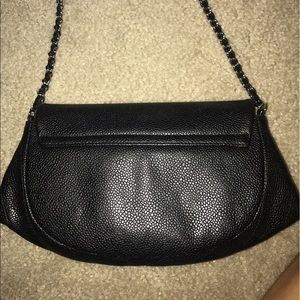 23a02aefeded CHANEL Bags - Chanel caviar half moon wallet on chain