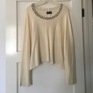 Embellished sweater from Nordstrom