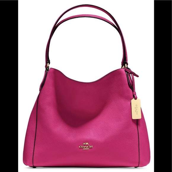 2f9d811b20 COACH EDIE 31 in refined pebble leather 36464 bag