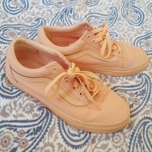 d70152b8649a SALE 🍑 very rare 🍑 peach canvas sneakers. M 59a70aba7fab3ac5be00ce6e
