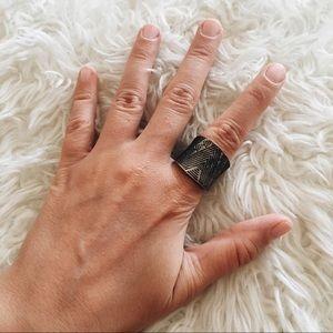 Jewelry - Aztec Print Ring