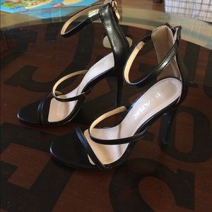 4c246f9a0c Liliana Shoes | 55 Triple Strap Heel | Poshmark