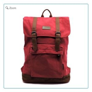 Handbags - NEW Military Canvas Backpack Large Red
