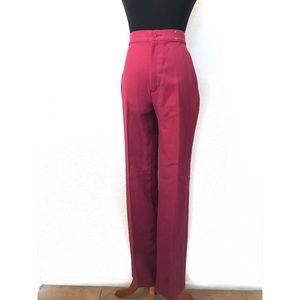Vintage raspberry high-waisted Levis Bell bottoms