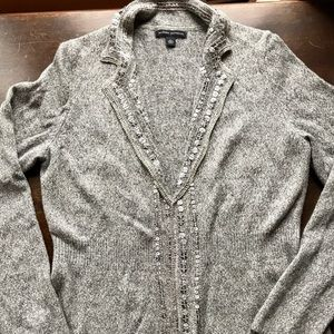 NWOT Banana Republic Embellished Knit Cardigan