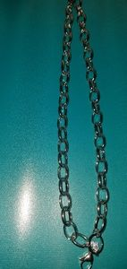 """Jewelry - Origami Owl 18-20"""" silver large oval chain."""