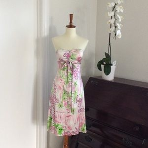 Lilly Pulitzer Strapless/Convertible Dress, 00
