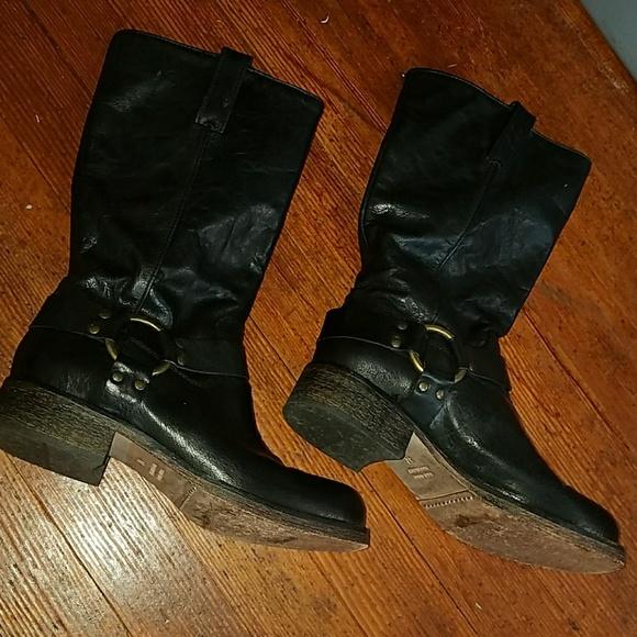 acheter en ligne c2593 6728b Latitude Femme black biker boots
