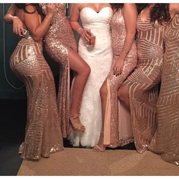 rebecca stella maxi dress