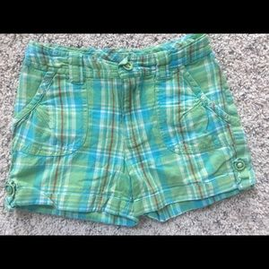Other - Girls plaid cotton shorts size M (10-12)