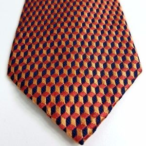 New BILL BLASS Men's 100% Silk Tie Geometric T10