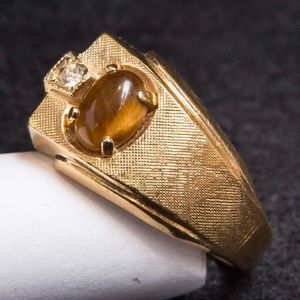 Other - Vintage 18K Gold Plated Costume Jewelry Ring