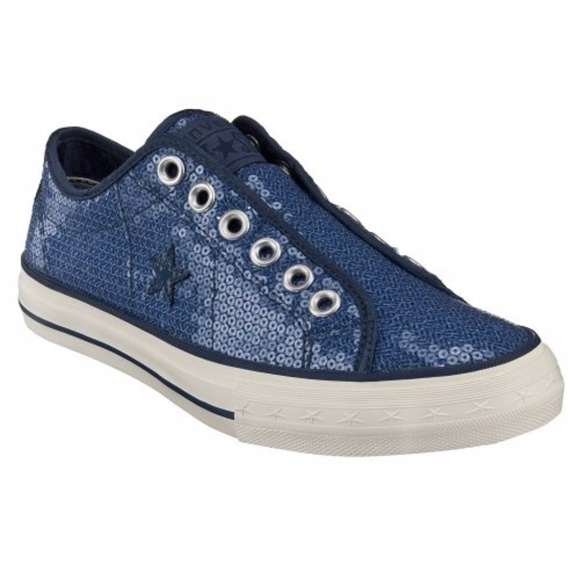 5321fdf9a420 ... denmark converse one star sequin laceless sneakers oxfords a2217 1cd30