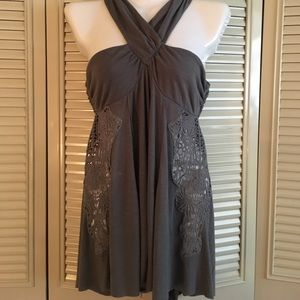 Free people high low tank- small