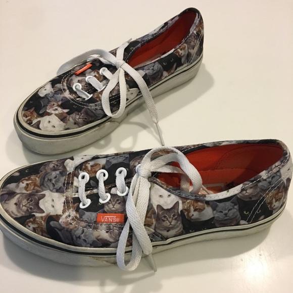 Vans Shoes | Van Cat Sneakers | Poshmark