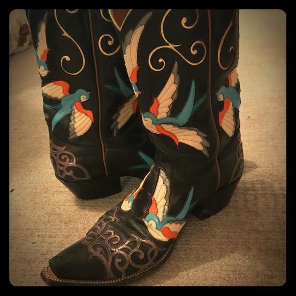 Rocketbuster Boots Shoes - Luvbirdsblack Rocketbuster Boots