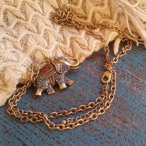 Jewelry - Jeweled Elephant Necklace