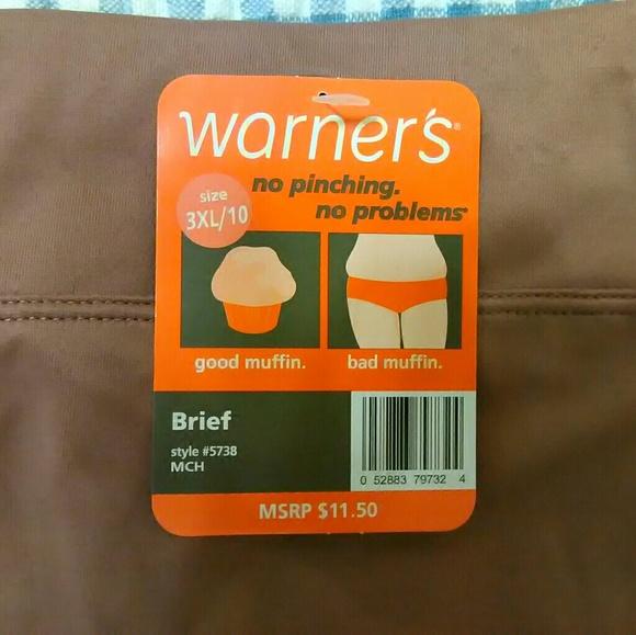 Warner's Intimates & Sleepwear - No Pinching No Muffin Top Plus Size Panties