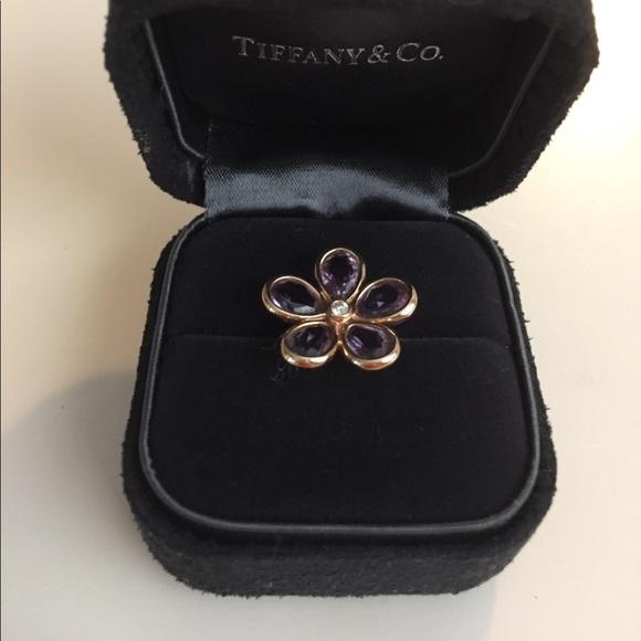 0eeb7e3611fa0 ‼️FINAL‼️ Tiffany & Co 18k Rose Gold Flower Ring