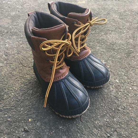 GAP Shoes | Gap Kids Duck Boots | Poshmark