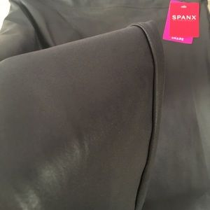 SPANX Other - Spanx Faux Leather Leggings retail $98
