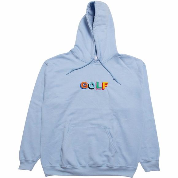 0c29ba1fa789 GOLF tyler the creator hoodie - BABY BLUE. M 59a74260bcd4a79d28007abd