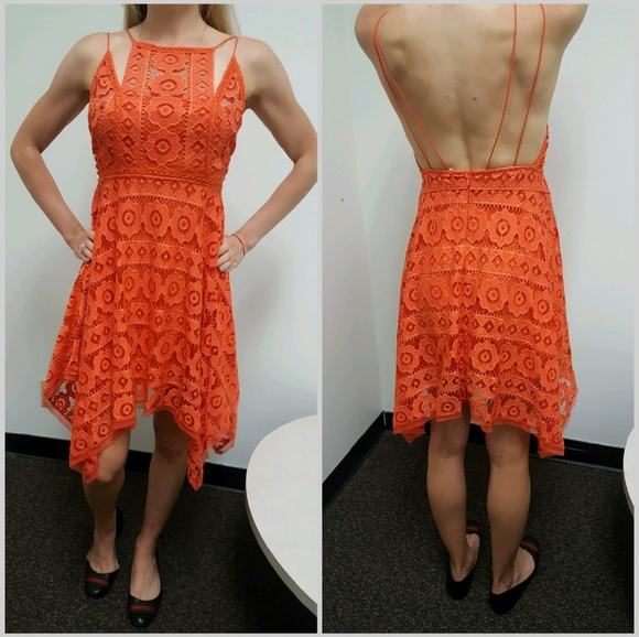 FP Like Honey Asymmetrical Lace Dress