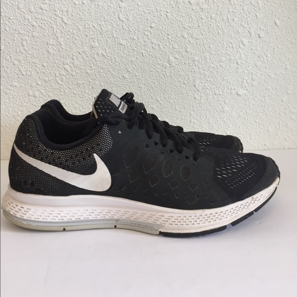 nike pegasus womens black