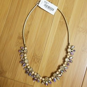 NWT JCrew Crystal Choker Necklace