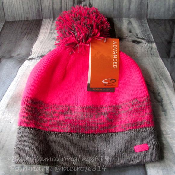 44f4a4276a8 Champion Gold Advanced Venture Warm Beanie Hat Cap